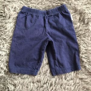5/$25 ONESIES BRAND blue cotton shorts